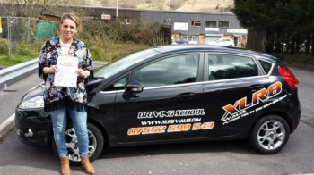 80414 Well done indeed Jessica for passing your driving test 1st time in Merthyr Tydfil with only 2 minor faults What an achievement since November