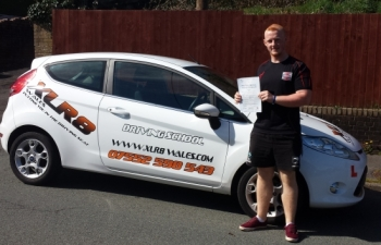 1414 - Congratulations to Garin Jones who passed his driving test on April Fools day what a result :-