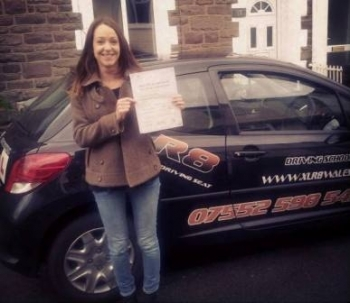 1012014 - Congratulations to Abbi for passing her test today in Abergavenny You worked so hard for this and we are all really proud of you