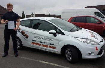 25414 - A massive congratulations goes out to Adam Buttifant for passing his driving test today in Merthyr Tydfil on his 1st attempt and after just over 25 hours RESULT