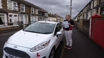 161116 - Congratulations to Alexandra Evans on passing her test today in Merthyr Tydfil with our Glenn Nice one knew you could do it
