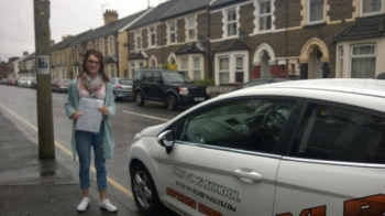 040614 Big congratulations to Alexandra Owen on passing her driving test in Merthyr Tydfil with only 2 faults we all knew you could do it fab result sweetie