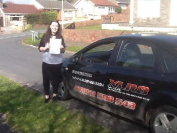 140314 What a brilliant result today with Alice passing her driving test first time in Merthyr Tydfil with Robreally proud of you Alice