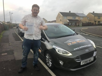 19.11.19 - Congratulations to Ashley Evans on passing his test today first time in Merthyr!! Nice one 😊