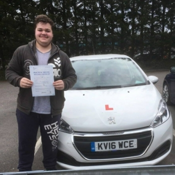 23.4.18 - Congratulations to Ben Grey who passed his driving test today 1st time in Merthyr Tydfil with our Peter... Lovely result