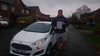 31115 - Congratulations to Ben Williams on passing his test this afternoon first time in Merthyr Tydfil with only 3 minors Hope you get your new wheels soon 😃