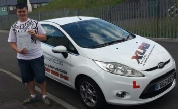 190614 A massive congratulations goes out to Brandon Jones who passed his driving test today in Merthyr after only 32 hours with only 2 minors Lovely result