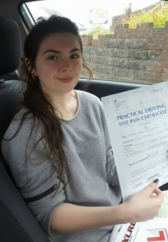 20816 - Despite having a lot of anxiety about driving Ali built my confidence and I passed my test this morning first time Absolutely over the moon couldnacute;t think of a better person to learn with<br />