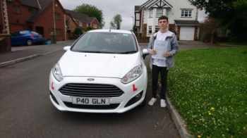 16617- Congratulations to Callum Owen on passing his test first time today in Merthyr Tydfil with only 4 faults awesome result now you can enjoy driving your new car