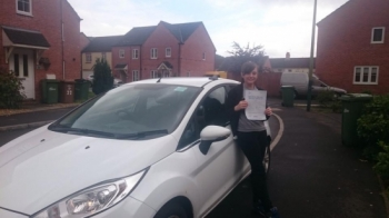 20815 - Congratulations to Casey Jakes on passing her test today in Merthyr Tydfil 😃 I am going to miss our lessons every one was entertaining and Iacute;m looking forward to seeing you out and about :-