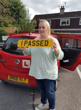 10.9.2019 - A massive Congratulations goes out to Cath Rutter on passing her automatic driving test today first time in Abergavenny after a 5 day inte