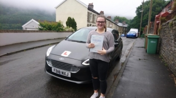 20.6.18 - Congratulations to Cerys Jones on passing her test first time this morning with only 2 faults lovely result enjoy your freedom