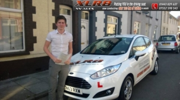140314 Congratulations to Cole Daley on passing his driving test today with only 1 fault nice one
