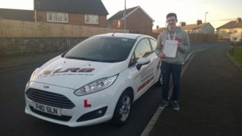 31214 - Congratulations to Conor Lees on passing his driving test today first time in Merthyr Tydfil with only 2 minors - looking forward to seeing you out on the road in your new car