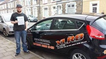 60314 Well Done to Dan Tilley on passing his driving test in Pontypridd 1st time and after ONLY 15 Hours of driving lessons with Matthew What an amazing result Congratulations from the team at XLR8 Wales Driving School