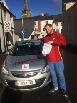 3032016 - Well done to Daniel Clifford for passing his driving test in Merthyr Tydfil 1st time with only 4 minors Stunning