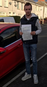 14/1/19 - 'Can't thank Ali enough for achieving my pass today with only 3 minors, I would highly recommend anyone wishing to learn either manual or automatic license, to obtain it through XLR8 Wales Driving School'<br />