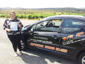 30714 - Well done Donna for passing your test today 1st time in Abergavenny with just 2 minors An amazing result and well deserved after all your hard work