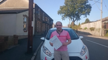 21015 - Congratulations to Edward Bradford on passing his test today in Merthyr Tydfil I knew you could do it ad looking forward to seeing you out and about :-