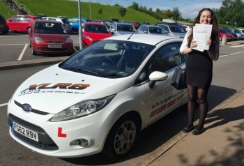 4915 - Many thanks Ali for the effort you put in to getting Elinor to pass her test Yesterday She is over the moon I have recommended XLX8 Driving School to many parents in the past and will definitely continue to do so A huge thank you<br />