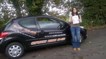 16102014 - I never thought Iacute;d be able to drive let alone pass my test with 2 minors Highly recommend XLR8 for anyone wanting to drive Thank you so much for getting me on the road and thank you Matthew for your patience : see you on the road