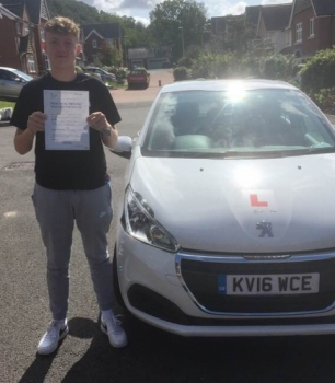4.9.2019 - Congratulations to Ethan Reynolds on passing his driving test today with our Peter... Well done and drive safe 🚗👍