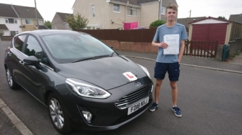 11.7.18 - Congratulations to Evan Marshall on passing his test in Merthyr Tydfil first time with zero faults!! An awesome result!!