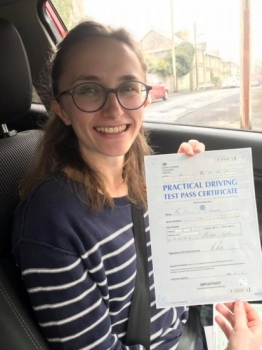 16.4.19 - Congratulations to Ffion on passing her driving test 1st time in Merthyr.... what an outstanding result!!! Safe driving 🚗🚦😁