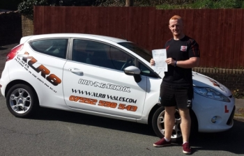 010414 A massive congratulations to Garin TinTin Jones for passing his driving test first time today in Merthyr Tydfil What an amazing result