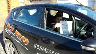 61113- Congratulations to George who passed his test 1st time with XLR8 Wales Driving School