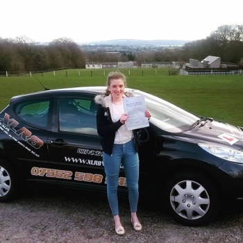 2522016 - A huge congratulations goes out to Geri today for passing her driving test in Abergavenny with just 2 teeny tiny minors Really pleased for you Geri well done