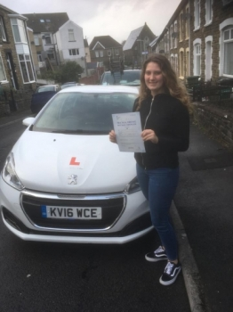20.2.19 - 'Thank you Peter for all your patience and helping me pass my test!😁'<br />