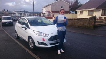 512016 - Congratulations to Helen Dicks on passing her test today at Merthyr Tydfil with only 3 minors what a great way to start 2016