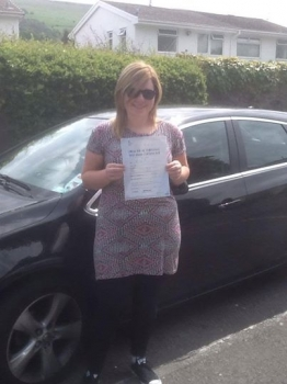 30614 - A massive well done to Hollie Davies for passing her Automatic Driving Test first time in Merthyr Tydfil with only 4 driver faults You worked really hard Hollie and we are all really proud of you
