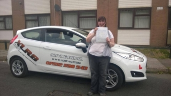 190514 Big congratulations to Honey Williams on passing her driving test today at Merthyr Tydfil So proud of you