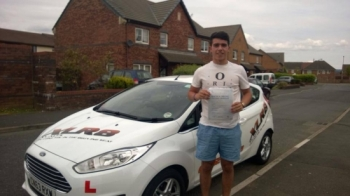 260614 Congratulations to Jack Williams on passing his driving test today in Merthyr Tydfil first time with only 25 hours nice one mate Excellent drive hope you get your new car soon