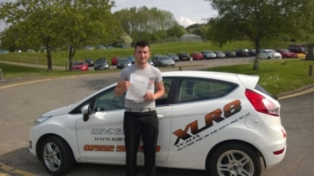 190514 Amazing result from Jamie Morris passing his driving test first time today in Merthyr Tydfil congratulations