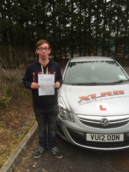 1732016 - Our Peter is on a roll this week Congratulations to Jamie Park who passed his driving test 1st time in Merthyr