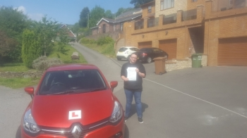 27.8.2019 - A Massive Well Done to Jennifer on passing her Automatic driving test today in Merthyr, 1st time with just 2 little marks after completing