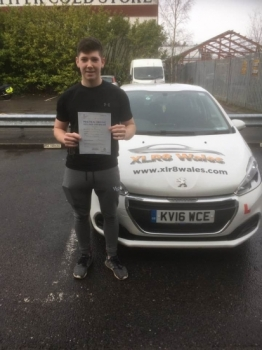 16.12.19 - Congratulations to Josh Hutchins passing his driving test today, 1st time and only 2 minor faults with our Peter 🚗😁🚦