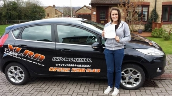 70414 Well done kate for passing your driving test at pontypridd with Matthew You deserve this after your hard work and determination Happy driving in your ka