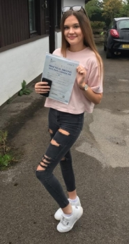 20.8.18 - Congratulations to Kate Millinship on passing her driving test 1st after taking up a semi intensive course. Drive safe and give us a beep when we see you 🚘🚦