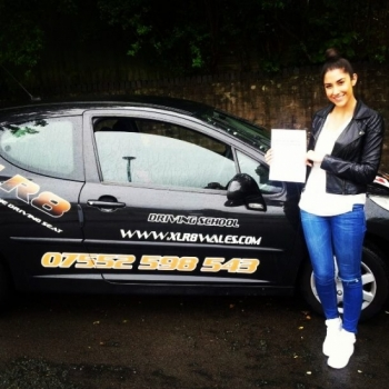 040614 Well done Kate on passing your driving test in Cardiff with just a few minor faults on your first attempt Excellent result All the best for your trip to Asia