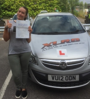 9816 - I had an intensive driving course with peter and passed on my second attempt peter was very professional and patient with my I couldnt have done it without him telling me off and pushing me to be my best very happy<br />