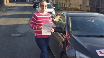141216 - Would highly recommend Didnacute;t think I would get to the point where I could drive but after great teaching from Rob Iacute;m now an owner of a driving license <br />