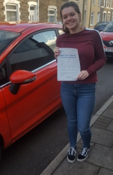 18118 - Congratulations to Kiah for passing her driving test today 1st time with only 1 minor what a fantastic result really proud of you Drive safe :-