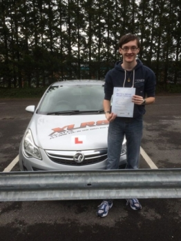 21516 - Congratulations to Kieran Griffiths on passing his driving test yesterday in Merthyr Tydfil well done