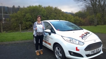 281114 - Congratulations to Latasha Jones on passing her driving test today at Merthyr Tydfil Nice one we knew you could do it and no more buses for you Happy driving in the new car :-