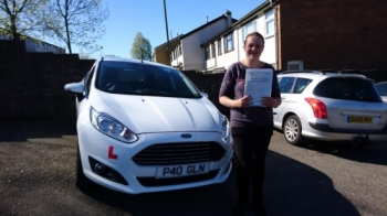 15.5.18 - Congratulations to Laura Adams on passing her test this morning first time with only 4 faults with our Glenn Evans!! Have fun car shopping!