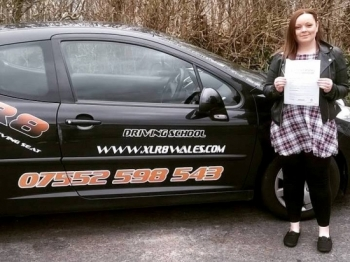 23315 - Well done Lauren for passing your driving test today in Abergavenny Well deserved Lozzy Bear :-
